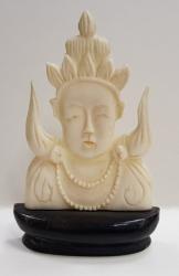 Zeitate hindusa - Figurina din fildes