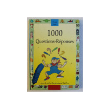 1000 QUESTIONS  - REPONSES , illustrations de BRUNO HEITZ ...JACQUES LACOSTE , 1995 , LIPSA STILOU *