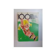 1001 DE JOCURI PENTRU COPII de EUGENIA BARCAN TICALIUC , 1979