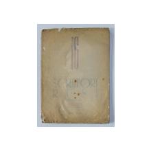 16 SCRIITORI RUSI ( A. PUSKIN , N. GOGOL , M. SALTAKOV , L. TOLSTOI , M , GORKI , V. MAIAKOVSKI , I. EHRENBURG , A. FADEEV , M. SOLOHOV ) , desene de PERAHIM , 1947 *LIPSA 5 PLANSE