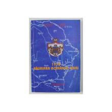 1918 - FAURIREA ROMANIEI MARI de CONSTANTIN BOTORAN si MIHAI RETEGAN , 1993 , DEDICATIE*