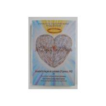 365 DAYS OF ANGEL PRAYERS by ELIZABETH HARPER and CATHLEEN O 'CONNOR , 2014, PREZINTA INSEMNARI PE COPERTA INTERIOARA *