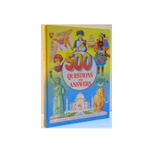 500 QUESTIONS AND ANSWERS by ANNE MCKIE , ILLUSTRATED by KEN MCKIE , 1994