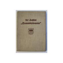 70 JAHRE ' TRANSSYLVANIA ' - ALLGEMEINE BERSICHERUNGS A.G. , HERMANNSTADT , ANIVERSAREA ZIARULUI ' TRANSILVANIA , 1938