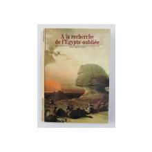 A LA RECHERCHE DE L 'EGYPTE OUBLIEE par JEAN VERCOUTTER , 1995