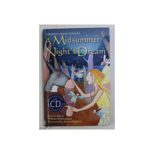 A MIDSUMMER NIGHT 'S DREAM - from the play by WILLIAM SHAKESPEARE , illustrated by SERENA RIGLIETTI , 2007 , CONTINE CD *