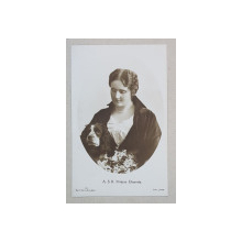 A. S. R. Printesa Elisaveta - Portret, Foto tip CP