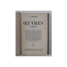 A . TCHEKHOV - OEUVRES DE 1885 - ( L 'UNIFORME DU CAPITAINE ...REMEDE CONTRE LES CRISES D 'IVROGNERIE ) , APARUTA 1954