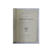ABREGE DE GEOGRAPHIE PHYSIQUE par EMM. DE MARTONNE , 1928