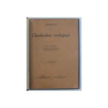ABREGE DE LA CLASSIFICATION ZOOLOGIQUE par AUG. LAMEERE , 1931