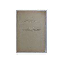 ACTA ETNOGRAPHICA , ACADEMIAE SCIENTIARUM HUNGARICAE TOMUS V , FASCICULI 3 - 4 , CHANGEMENTS DANS LA VIE ET LA CULTURE DES VILLAGES PENDANT L ' EDIFICATION DU SOCIALISME par CHR. VAKARELSKY , 1956 * DEDICATIE