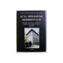 ACTA MOLDAVIAE MERIDIONALIS - ANUARUL MUZEULUI JUDETEAN STEFAN CEL MARE VASLUI XXII-XXIV VOL. II 2001-2003