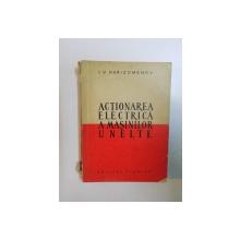 ACTIONAREA ELECTRICA A MASINILOR UNELTE de I.V. HARIZOMENOV  1960