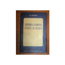 ACUARELA, TEMPERA, PASTEL SI DESEN de  D.I. KIPLIK