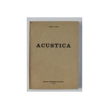 ACUSTICA de DIMA N. VASILE , 1994