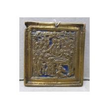 Adormirea Maicii Domnului, Icoana din bronz, Rusia, sec. XIX