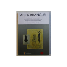 """AFTER BRANCUSI , PROCEEDINGS OF THE INTERNATIONAL CONFERENCE ORGANIZED IN THE FRAME OF THE PROJECT """" THE SAINT OF MONTPARNASSE """" FROM DOCUMENT TO MYTH by IRINA CARABAS and OLIVIA NITIS , 2014"""