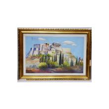 Agenor Asteriadis (1898-1977) - Templul lui Jupiter, Greek painter