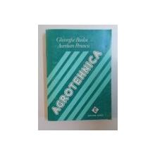 AGROTEHNICA de GHEORGHE BUDOI SI AURELIAN PENESCU , 1996