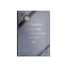 ALBINA INSTITUT DE CREDIT SI DE ECONOMII  1872- 1897   - PETRA   PETRESCU