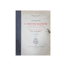 ALBUM L'EVOLUTION DE LA PEINTURE RELIGIEUSE EN BUCOVINE ET EN MOLDAVIE, DEPUIS LES ORIGINES JUSQU'AU XIX SIECLE par I. D. STEFANESCU, PARIS, 1929 DEDICATIE*