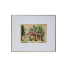 ALEXANDRU POITEVIN-SCHELETTI (1879 - 1959) - Casa in padure