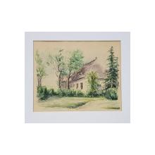 Alexandru Poitevin-Scheletti (1879 - 1959) - Casa la marginea padurii