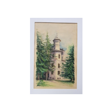 Alexandru Poitevin-Scheletti (1879 - 1959 ) - Turnul