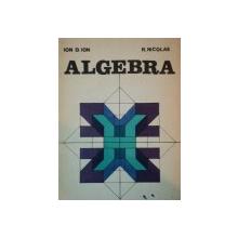ALGEBRA de ION D. ION SI R. NICOLAE 1981
