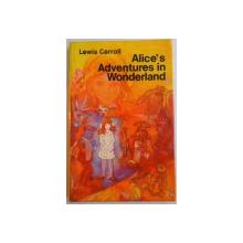 ALICE'S ADVENTURES IN WONDERLAND by LEWIS CARROLL , ILUSTRATIILE de JOHN TENNIEL , 1971
