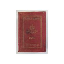 ALMANACH DE GOTHA , ANNUAIRE GENEALOGIQUE , DIPLOMATIQUE ET STATISTIQUE , 1896