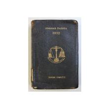 ALMANACH HACHETTE - PETITE ENCYCLOPEDIE POPULAIRE ED. COMPLETE , 1912