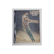 ALMANAH - CALENDARUL UNIVERSUL PE ANUL 1941