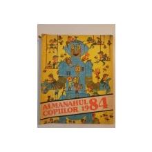 ALMANAHUL COPIILOR de GICA IUTES...ADRIAN CERNESCU 1984