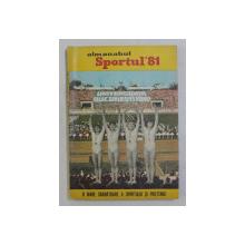 ALMANAHUL SPORTUL ' 81