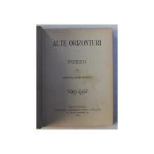 ALTE ORIZONTURI  - poezii de DUILIU ZAMFIRESCU , 1894