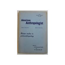 AMERICAN ANTHROPOLOGIST , VOLUME 68 , PART. 2 , NUMBER 2 , APRIL 1966