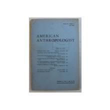 AMERICAN ANTHROPOLOGIST , VOLUME 70 , NUMBER 3, JUNE 1968