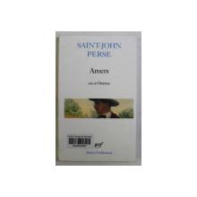 AMERS , suivi de OISEAUX , par SAINT - JOHN PERSE , 1963