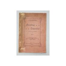 AMINTIREA TRECUTULUI  - SCHITE SI NUVELE de N . M. BORVIZEANU , 1910 , EDITIE PRINCEPS *