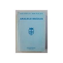 ANALELE BRAILEI - REVISTA , SERIE NOUA , AN II , nr. 2 , BRAILA , 1996