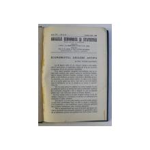 ANALELE ECONOMICE SI STATISTICE , REVISTA LUNARA , ANUL XXI , NUMERELE 4 - 6 , APRILIE - IUNIE , 1938