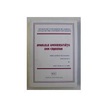 ANALELE UNIVERSITATII DIN CRAIOVA - SERIA STIINTE FILOLOGICE  LINGVISTICA , ANUL XXVII , NR . 1 - 2 , 2005