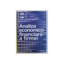 ANALIZA ECONOMICO - FINANCIARA A FIRMEI de VASILE ROBU ... ELENA - CLAUDIA SERBAN , 2014