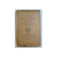 ANALYSE ET COMPREHENSION DES OEUVRES ET OBJETS D ' ART par EDOUARD ROUVEYRE , 1926