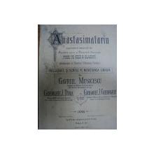 ANASTASIMATARIU - GAVRIL MUSICESCU, GHEORGHE DIMA…. 1888