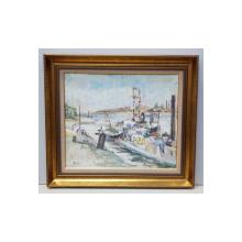 Anatol Vulpe ( 1907-1946 ) - Barci in port