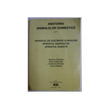 ANATOMIA ANIMALELOR DOMESTICE - VOLUMUL I  de ALEXANDRU POPESCU ...VIOARA MIRESAN , 2001
