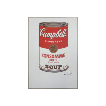 Andy Warhol ( 1928 - 1987 ) - Conserva de supa Campbell, Cromolitografie