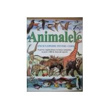 ANIMALELE . ENCICLOPEDIE PENTRU COPII de PHILIP WHITFIELD , 1999